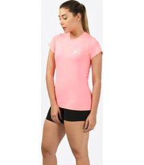 camiseta inspire rosado para mujer