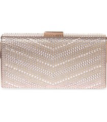 studded minaudiere clutch