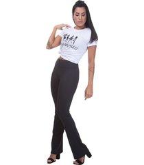 calça legging miss blessed premium bailarina preto