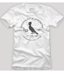 camiseta carimbo gaze reserva branco