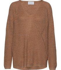 dynastiet sweater stickad tröja orange holzweiler