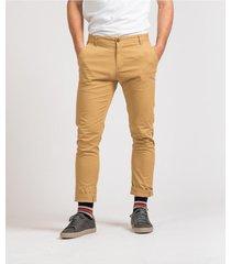 pantalón marrón brooksfield chino dante