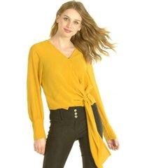 blusa giordana amarillo bous