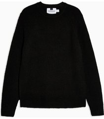 mens black raglan sweater
