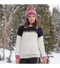let it snow pullover