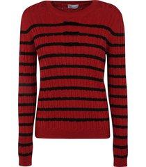 red valentino striped sweater
