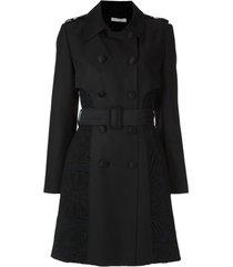 martha medeiros casaco com renda renascença - preto