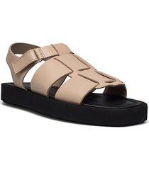 kleva shoes summer shoes flat sandals beige by malene birger