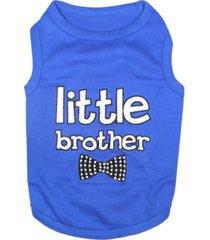 parisian pet little brother dog t-shirt