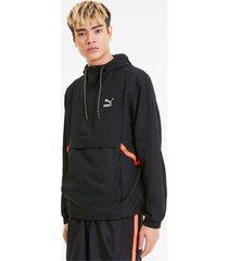 tailored for sport herenjack, zwart, maat xl | puma