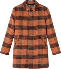 t-coat wool check