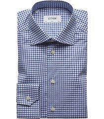 slim-fit check dress shirt