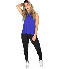 regata rb moda visco azul - azul - feminino - viscose - dafiti