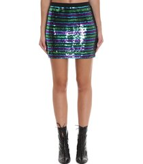 marc jacobs skirt in multicolor polyester