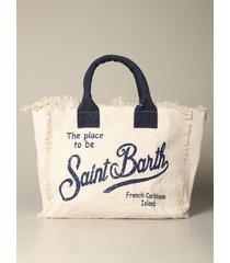 mc2 saint barth tote bags mc2 saint barth vanity shopping bag in canvas
