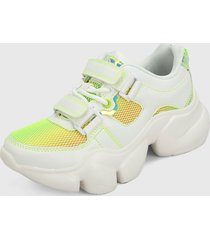 tenis lifestyle blanco-multicolor ocean pacific zelu