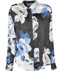 off-white floral print shirt