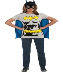 buy seasons women's batgirl t-shirt costume kit