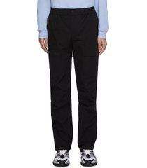 albion patch tailored tech pants