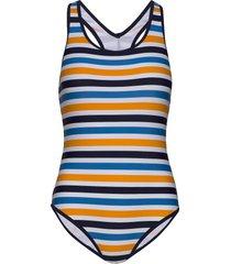hmllibby swimsuit baddräkt badkläder multi/mönstrad hummel
