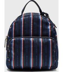 mochila dome backpack julia azul tommy hilfiger