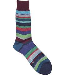 bernard burgundy color socks