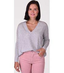 les tricots de lea tricot de lea trui monjak02 20426 grijs