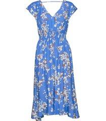 adore s/s dress jurk knielengte blauw odd molly