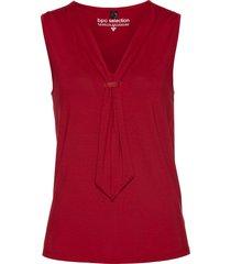 top con fiocco (rosso) - bpc selection