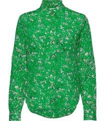 celosa p blouse lange mouwen groen tiger of sweden