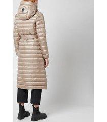 mackage women's portia coat - sand - m
