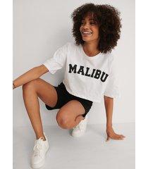 trendyol tryckt t-shirt - white