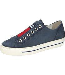 skor paul green blå