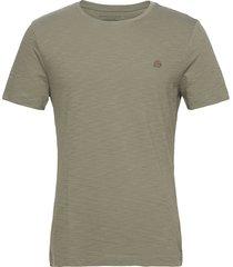 i logo softwash organic tee t-shirts short-sleeved grön banana republic