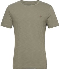 i logo softwash organic tee t-shirts short-sleeved grön banana republic