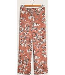 pantalón naranja-blanco-negro patprimo