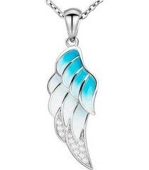 collar ala angel casual plata arany joyas
