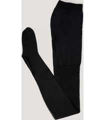na-kd reborn recycled tights - black