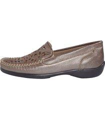 loafers naturläufer bronsfärgad