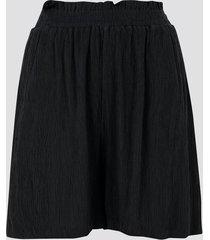short med elastisk midja - svart