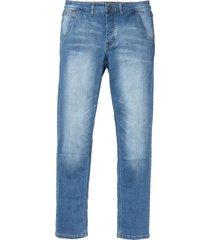 jeans elasticizzato chino slim fit straight (blu) - rainbow