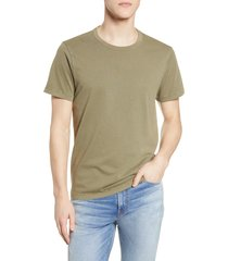 men's madewell garment dyed allday crewneck t-shirt