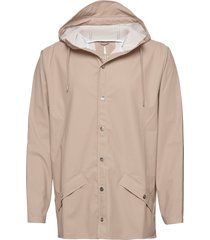 jacket regenkleding beige rains