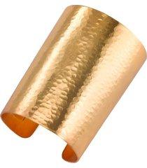hammered gold cuff bracelet, women's, josie natori