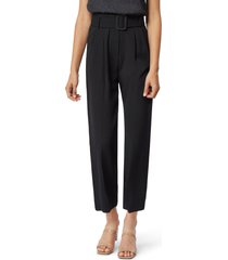 women's habitual payton belted high waist ankle trousers