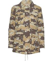 aop desert rookie jacket outerwear jackets utility jackets brun superdry