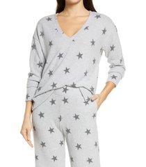 women's socialite lounge sweatshirt, size medium - grey