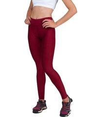 calça legging part.b básica suplex vermelha - kanui