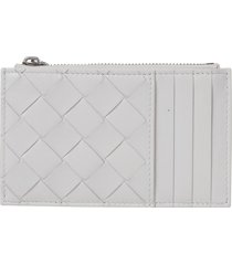 bottega veneta weaved card holder