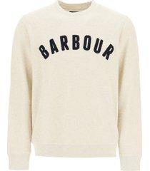 barbour barbour prep logo sweatshirt